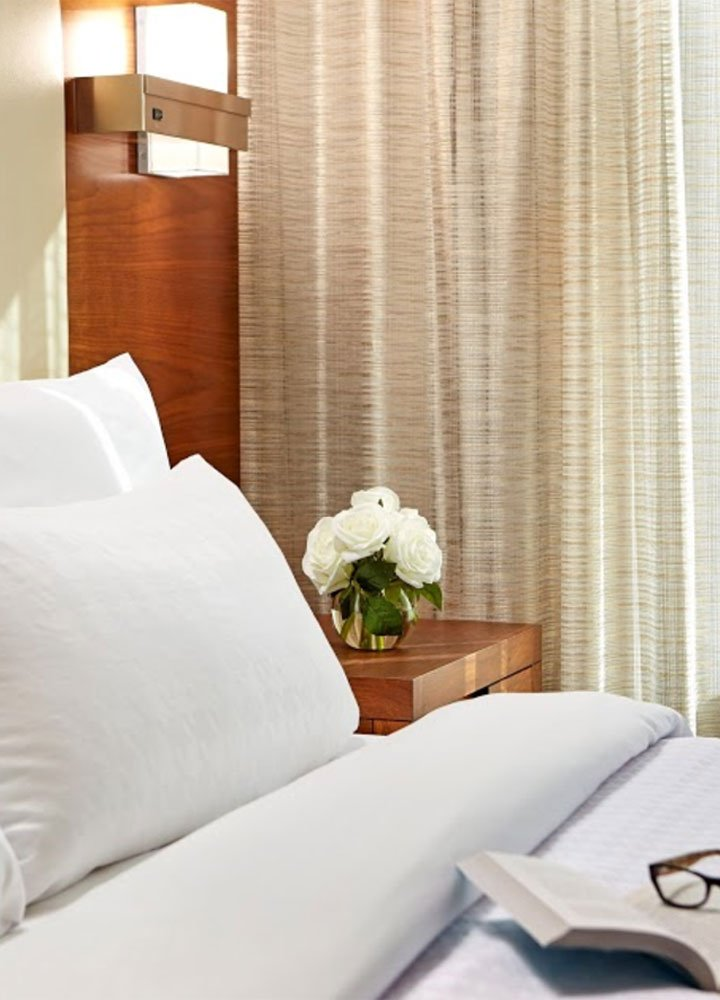 Homewood Suites bed
